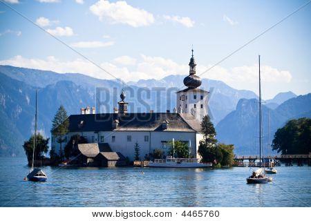 The Castle Of Schloss Ort (austria)
