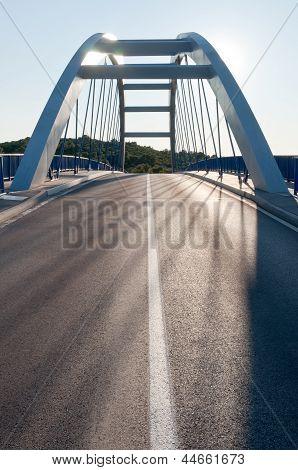 Modern Road Bridge