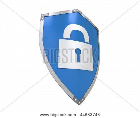 Blue Shield Lock