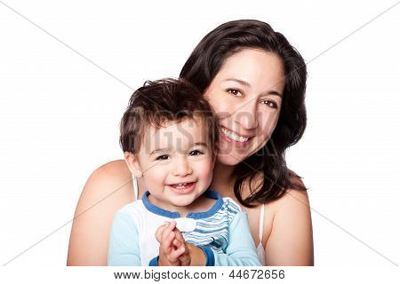Mother And Baby Toddler Son