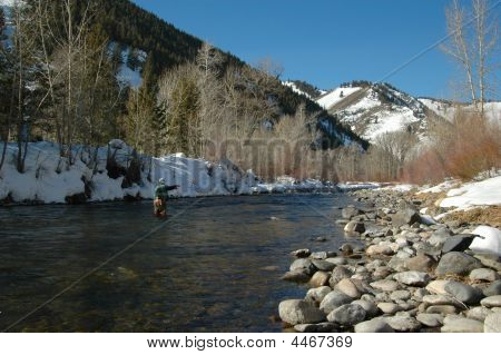 Winter Fly Fishing In Idaho