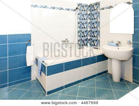 Bathroom Blue
