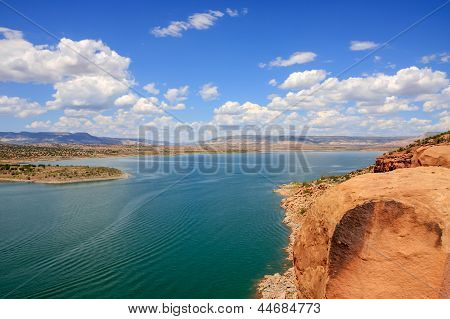 Lake Abiquiu In New Mexico