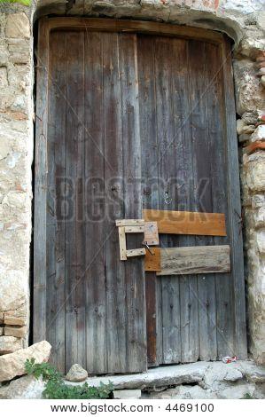 Rustic Door And Bolt