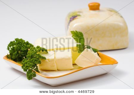 Butter With Parsley