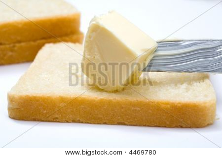 Butter, Bread And Knife