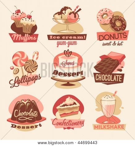 Sweets emblems