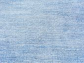 close up of light blue jeans texture poster