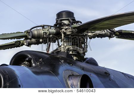 Helicopter Engine.