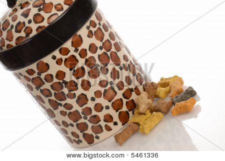 Dog Cookie Jar With Bones