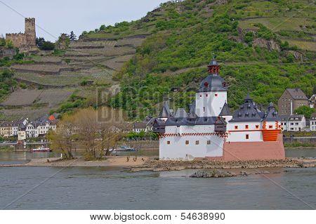 Kaub on the Rhine