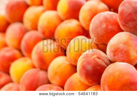 Peach Close Up