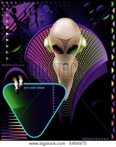 Alien Design Club Flyer