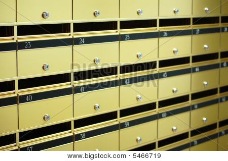 Apartment Letter Boxes
