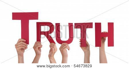 People Holding Truth