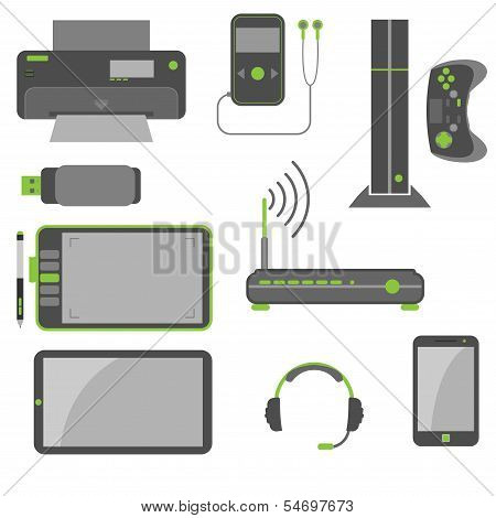 Stylish Simple Computer Devices