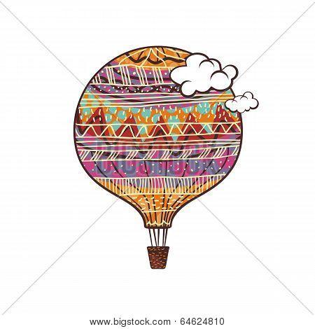 Decorated Balloon