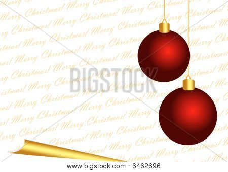 Merry Christmas White Background
