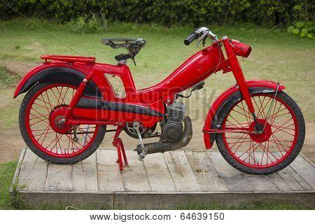 Old Vintage Motorcycle