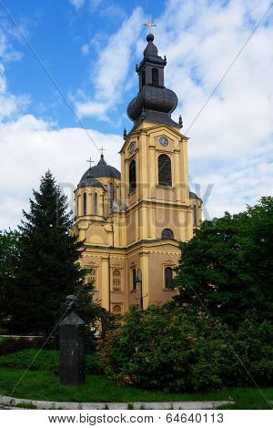 Serb Orthodox Cathedral in Sarajevo - Bosnia and Herzegovina