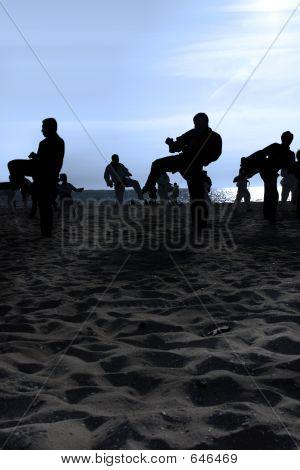 Tai Chi Beach