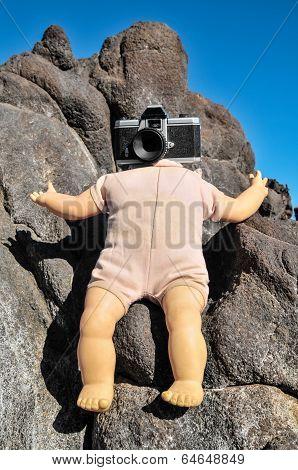 Photo Camera Head