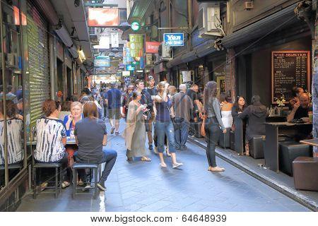 Melbourne lane culture