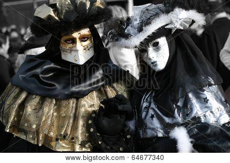 Beautiful clasical mask in Venice