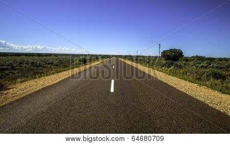 Infinite desert highway South Australia