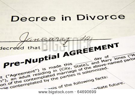 Pre-Nuptial with Divorce Doc