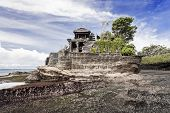 Tanah Lot temple on Bali island Indonesia poster