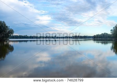 Panoramic View Of Chipping Norton Lake In Sydney, NSW, Australia