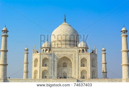 The mighty Taj Mahal