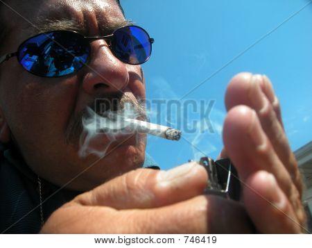 Stressed Smoker
