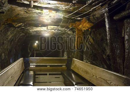 Interior Anthracite Coal Mine