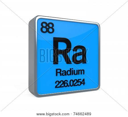 Radium Element Periodic Table