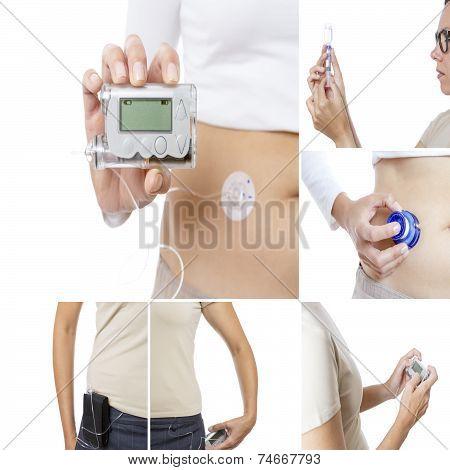 Insulin Pump Collage