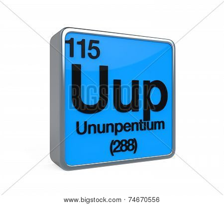 Ununpentium Element Periodic Table