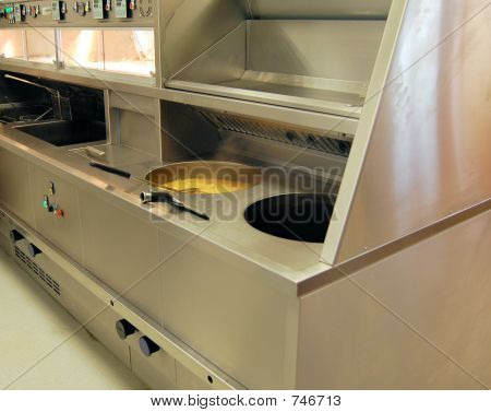 Commercial Range Fryer for Fish and Chips