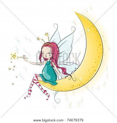 Cute Christmas fairy