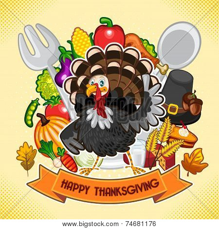 Happy Thanksgiving Turkey