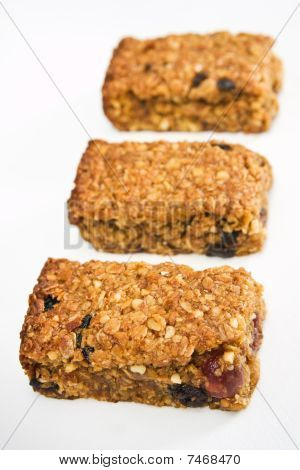 Three Flapjack Pieces In A Row