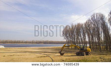 Mechanical Excavator