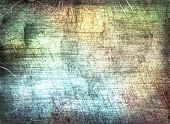 Grunge scratched texture as abstract background.Digitally generated image. poster