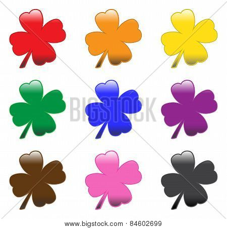 Glossy Clovers