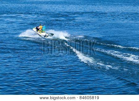 Mans On Jet ski