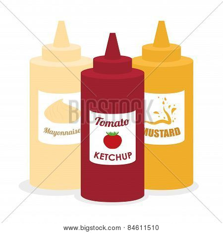 Food design , vector illustration.