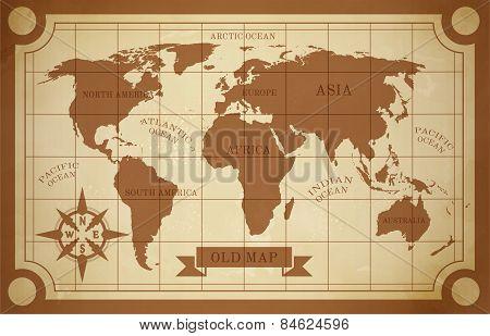 Old Map Illustration