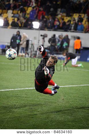 Goalkeeper Manuel Neuer Of Bayern Munich