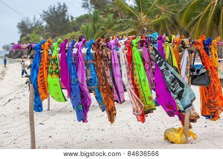 Beautiful colourful scarfes